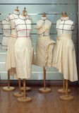 裁缝虚拟时装模特 免版税库存图片