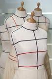 裁缝虚拟时装模特 图库摄影