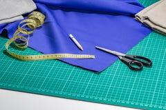 裁缝配套元件 免版税库存图片