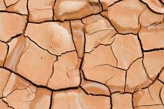 裂化的地球泥 免版税库存图片