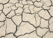 破裂和天旱地面 免版税库存照片