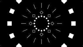 破裂圈的五颜六色的几何形状 向量例证