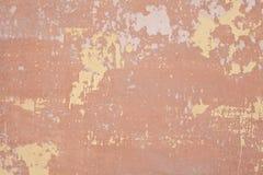 破裂的具体葡萄酒墙壁背景,老墙壁 免版税库存照片