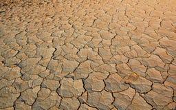 破裂的土地土壤纹理 库存照片