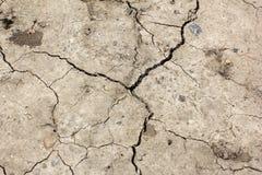 破裂的地球 全球性变暖-炎热的地球 库存照片