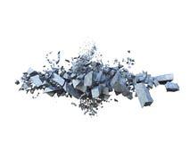 破裂的地球 免版税图库摄影