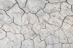 破裂的地球 免版税库存图片