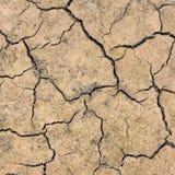 破裂的干燥地球 库存图片