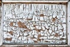 破裂的木制框架纹理 免版税库存图片