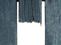 破裂的木路 免版税图库摄影