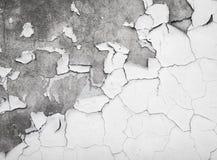 破裂的油漆纹理在混凝土墙上的 图库摄影