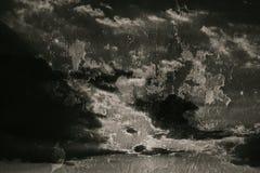 破裂的混凝土墙纹理背景 库存图片