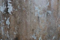 破裂的混凝土墙背景 库存图片