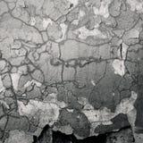 破裂的混凝土墙 免版税库存图片