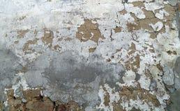 破裂的老墙壁纹理背景 库存照片