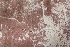 破裂的葡萄酒墙壁背景 免版税库存图片