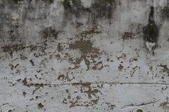 破裂的黑暗的墙壁 库存图片