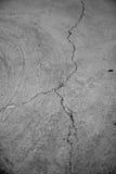 崩裂的水泥 图库摄影