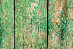 破裂的绿色油漆背景 免版税库存照片