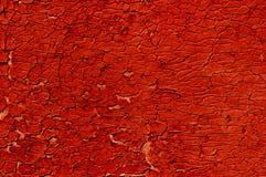 裂缝多密集的老油漆 免版税库存图片