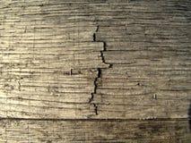 裂缝的宏观纹理照片在木桶的 免版税库存图片