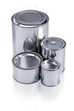 装不同的范围于罐中 库存图片