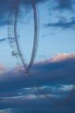 装备喝彩声3 航空器:2 x苏霍伊26M 库存照片