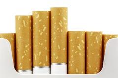 从组装提出的香烟过滤器 免版税库存图片
