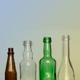 装瓶五颜六色的玻璃 库存图片