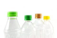 装瓶使用的塑料 库存图片