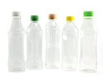 装瓶使用的塑料 图库摄影
