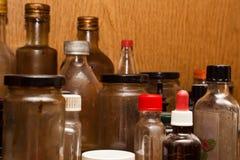 装瓶多种 免版税库存照片