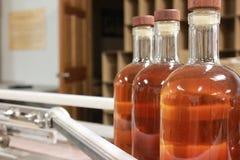 装瓶的威士忌酒 免版税图库摄影