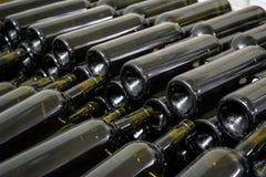 装瓶的空的瓶 免版税图库摄影