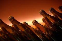 装瓶红色 免版税库存照片