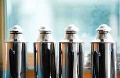 装瓶茶热水瓶 库存图片