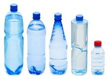 装瓶许多水 图库摄影