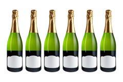 装瓶香槟六 图库摄影