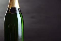 装瓶香槟 库存照片