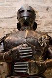 装甲中世纪诉讼 库存照片