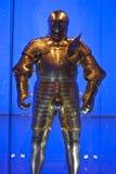 装甲亨利八世 免版税库存照片