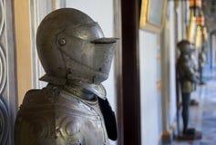 装甲在总统的Palace,马耳他。 图库摄影