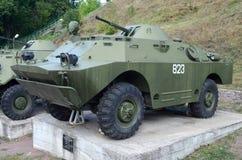 装甲的侦察和巡逻车 库存图片