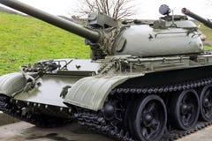 装甲的坦克在乌克兰的历史的国家博物馆第二次世界大战的 库存照片