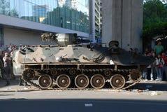 装甲的曼谷模范泰国通信工具 库存图片