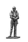 装甲的骑士。 免版税库存图片