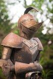 装甲的骑士 免版税库存图片