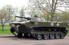 装甲运兵车纪念碑在胜利公园 免版税库存图片
