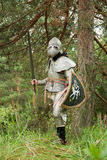 装甲骑士 免版税库存照片