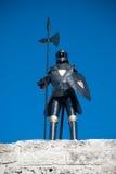 装甲骑士 库存照片